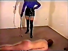 Dominatrix boot bitch