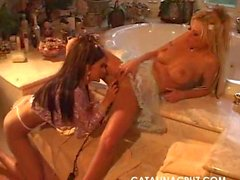 Catalina Cruz & Brittney Skye Bathroom