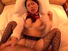BF-206 Orgasms!I cum flight stewardess, Isshiki Marina Mari