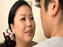 Japanese mother in law with huge tits suck best