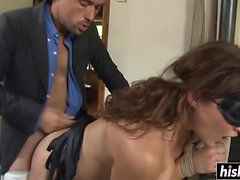 Natasha Nice gets a stiff shaft
