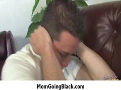 momgoingblack - sessuale interrazziale con cornea selvaggia suocera a 16