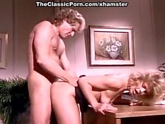 KC Williams, Randy West in classic porn video featuring hot