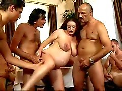 daddy's Friends Gangbang his pregnant daughter
