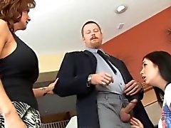Marido e esposa de Disciplina Babá