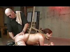 Shibari Rope Bondage And Spanking