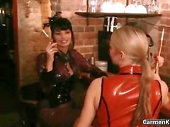 Dirty Carmen in perverse hard core s&m part4