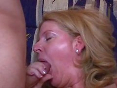 Hungarian mature fucked by two horny boy