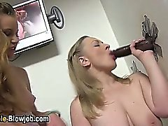 Gloryhole martillo negro esperma mamada Swallow