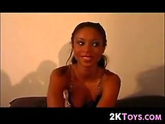 Amateur Ebony Girl Auditioning