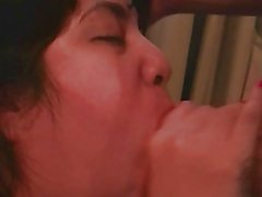 Thick Latina Sucking Cock