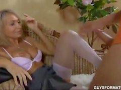 sexy russian MILF get deep