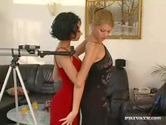 Michelle Wild Spies on Her Lesbian Neighbours...