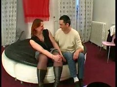 Sylvie French Mature Fucked By Boylike Man
