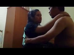 indonesian jilbaber married couple part 2