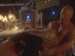 Jessica Drake has an anal gangbang