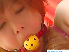 Miku AIri amazes in pure Asian bondage porn show