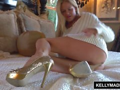 KELLY MADISON Elle-meme baise avec un verre sale Jouet