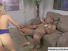 Black cock slut rides Mandingo