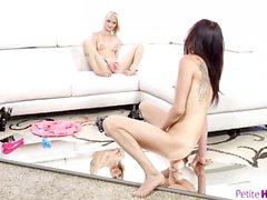 Lesbian Teens Sammie Daniels And Tysen Rich