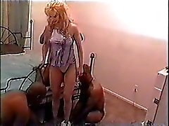 Bianca's Blonde-Black Gang Bang Fantasy