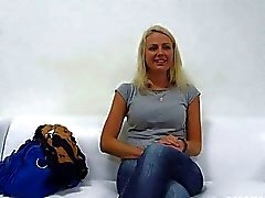 Beaty Blond Girl Jana Fuck Interview
