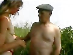 granny slut outdoor