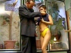 Big tits girl&teacher