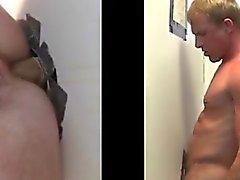 Peräaukon sukupuolten homojen gloryhole suorille keikari