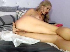Gaby Magic Wand Solo Masturbation