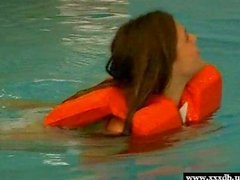 Young hot Olivia gets laid in the water