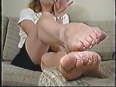Mature Feet Fetish POV