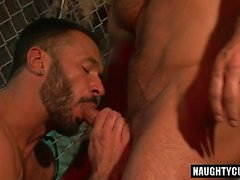 cumshot ile Big Dick eşcinsel anal seks