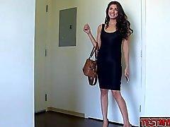 Nice girl pussy spanking