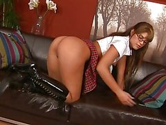 Naughty Brunette With Glasses DP