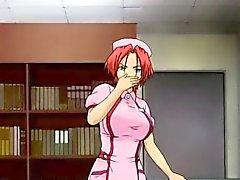 Gros seins femme animés reprend un choc électrique