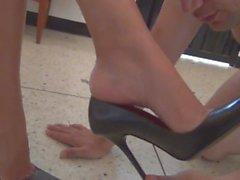 mistress foot slave