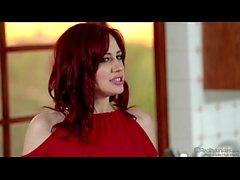 Jessica Ryan Redhead In Kitchen