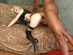 Sexy Petite Lexi Belle Takes On A HUGE Black Cock