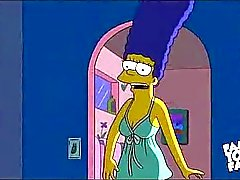 Simpsons Cartoon Sex : Homer vitun Marge