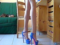 New blue heels