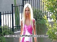 Franziska stunning stunning little blonde girl posing
