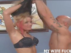 Watching my wife fuck another guy was really hot