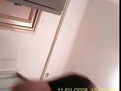 50 years old mom shaving on hidden cam