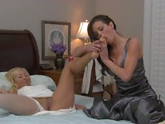 Lesbo Girls in White 2012 2 Scene 2 with Aaliyah Love