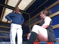 Kurvikas BBW Teen pleasuring Old Man
