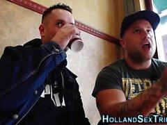 Dutch hooker tits fucked