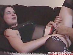 Goth girl fucking