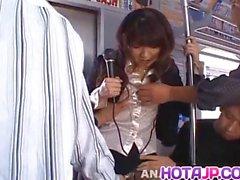 Misato Kuninaka gets much cum