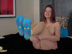 Sarah Blake Feet - New Cute Socks pt4